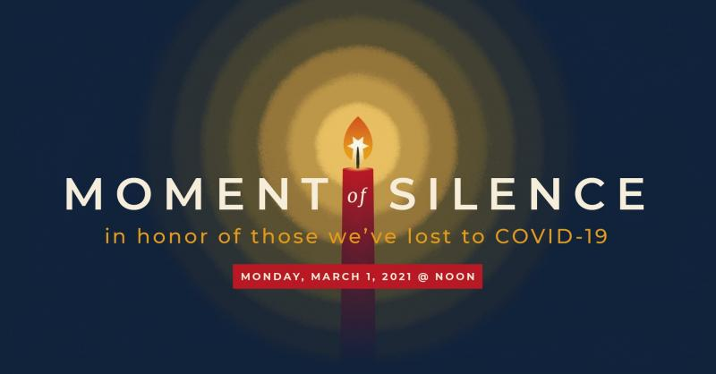 Moment of Silence Planned Monday For One-Year Mark of COVID-19 in Tulsa