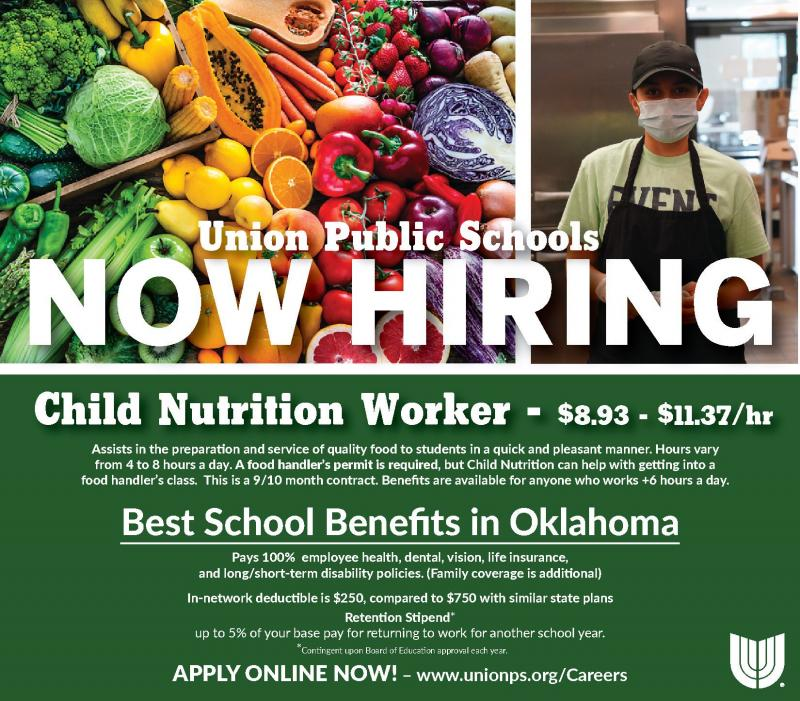 Now Hiring; Food Service Workers