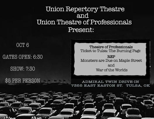 Update! Three Union Dramas Coming to the Admiral Drive-In Oct. 6!