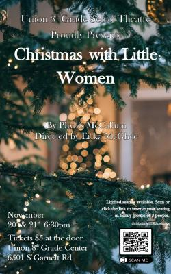 8th Grade Select Theatre Presents 'Christmas with Little Women' Nov. 20-21