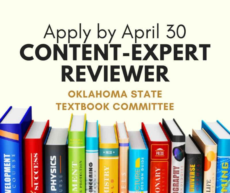 State Seeks Content Experts