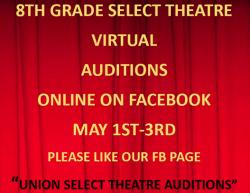 8th Grade Select Auditions information