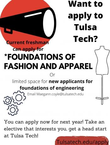 Tulsa Tech 2021-2022 Calendar Background