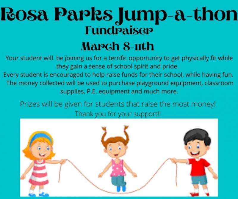 Rosa Parks to Host Jump-A-Thon