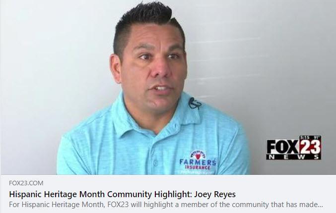 Hispanic Heritage Month Community Highlight: Joey Reyes
