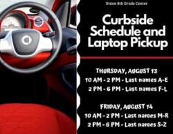 8th Grade Curbside Schedule Pickup Set Aug. 13-14