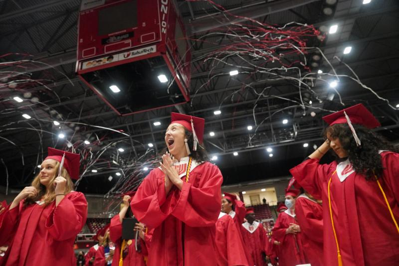 Superintendent to Class of 2021: Never Stop Imagining