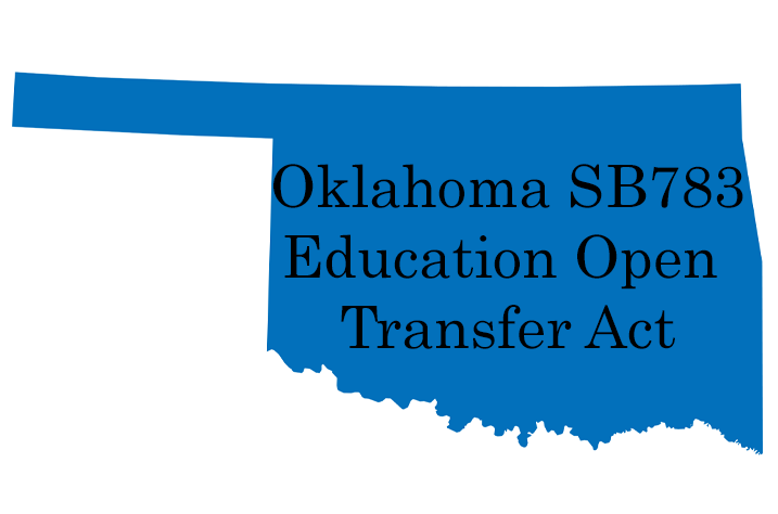 Oklahoma SB783/Education Open Transfer Act