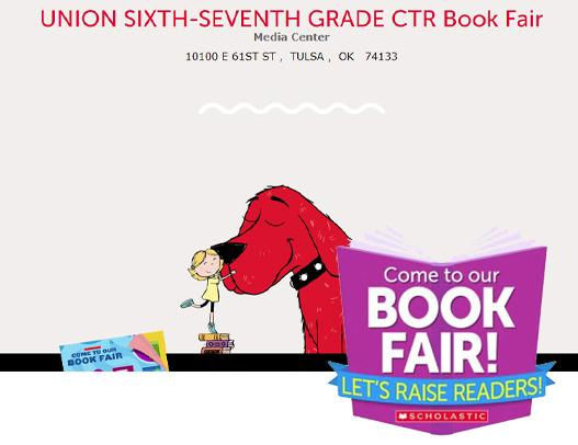 6th/7th Grade Book Fair March 1-12