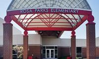 Landscape View facing Rosa Parks Elementary