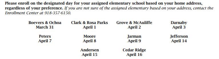 2020-2021 Pre-Enrollment Information for Pre-Kindergarten and Kindergarten