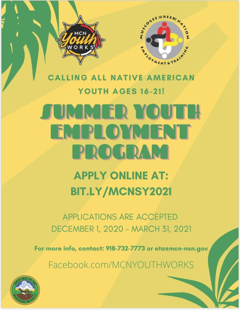 Summer Youth Employment Program Accepting Applications