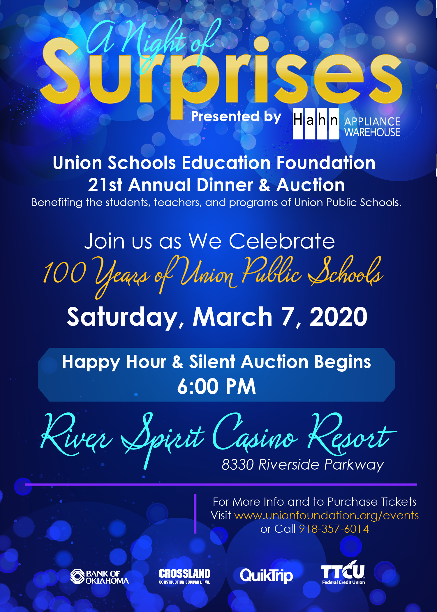 Join us for the 21st Annual USEF Dinner and Auction presented by @UnionFound and @HahnAppliance benefiting the students and teachers of @UnionSchools. Buy your tickets today
