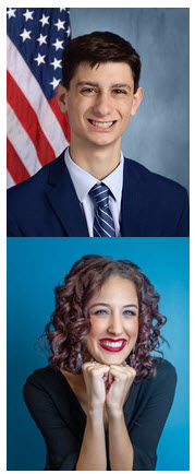 Two Oklahoma high school students have been named state delegates to the 59th annual U.S. Senate Youth Program (USSYP), which brings together outstanding student leaders from every state.