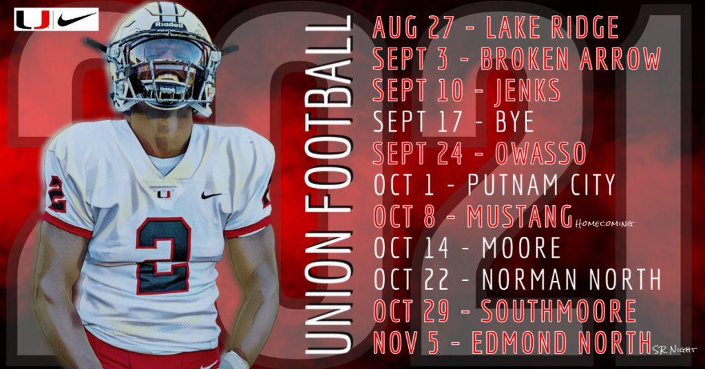Union Football Schedule