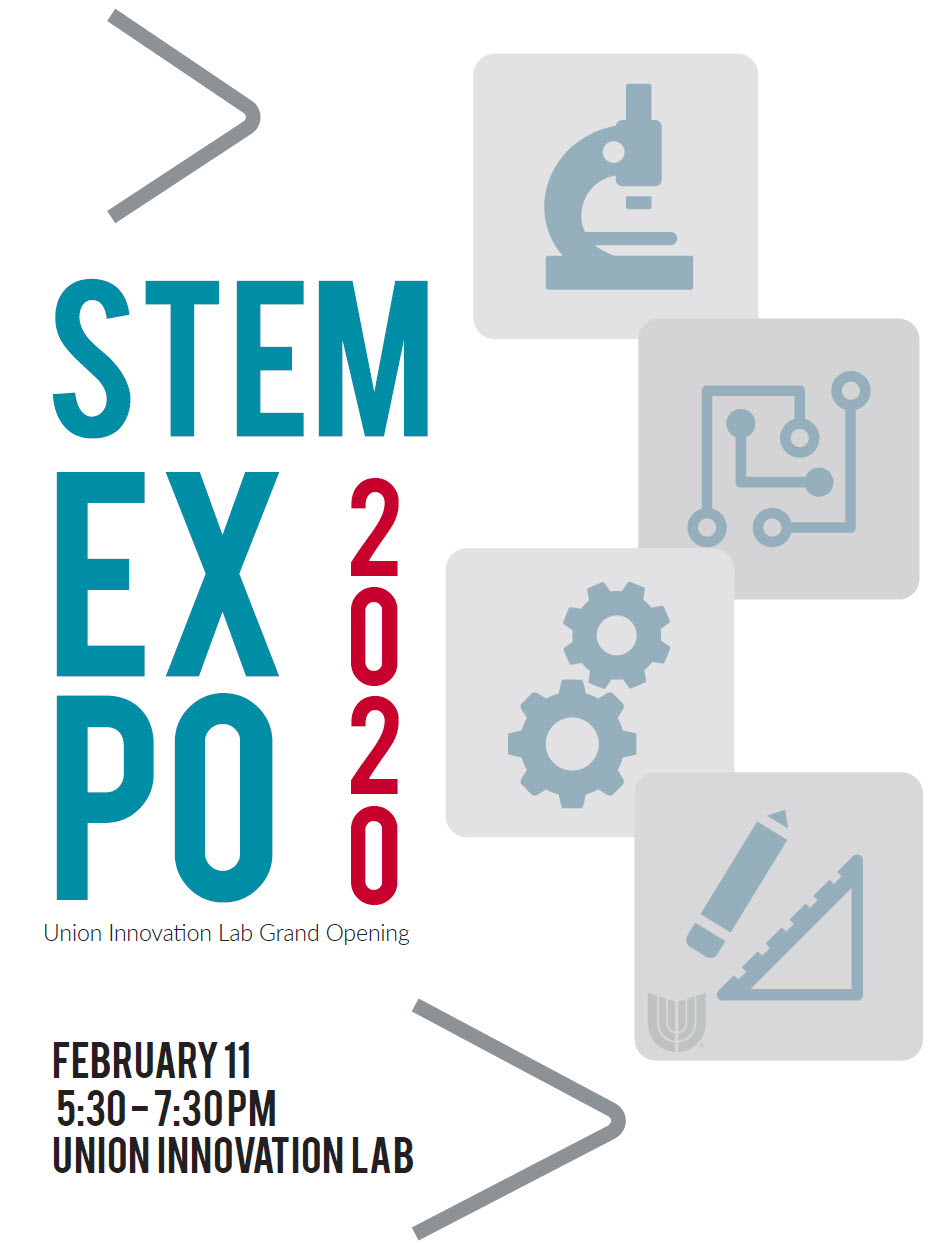 STEM EXPO 2020 willFebruary 11, 2020 from 5:30-7:30 p.m. at the Union Innovation Lab, 6235 South Mingo Road.