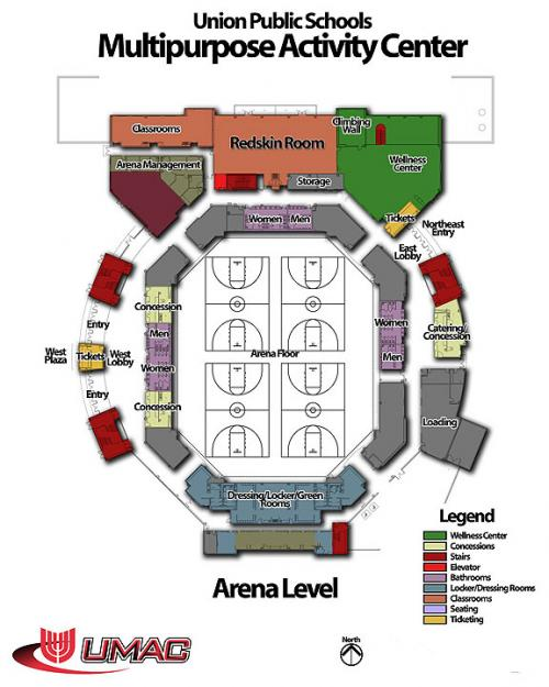 Arena Level Map