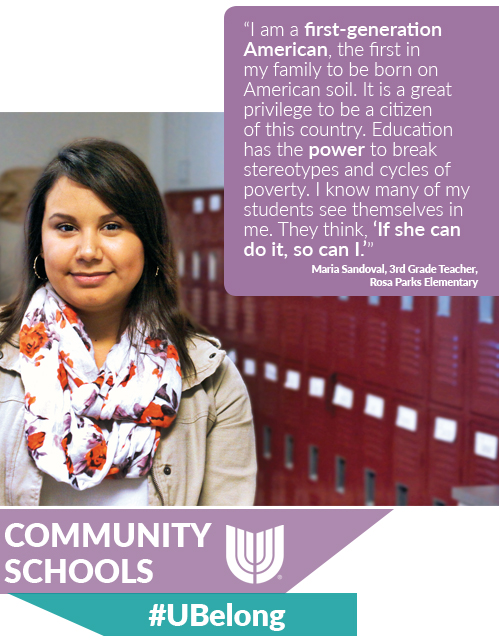 Community Schools - #UBelong