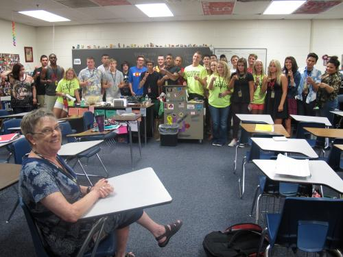 Liz Beeman was an awesome teacher and person. RIP