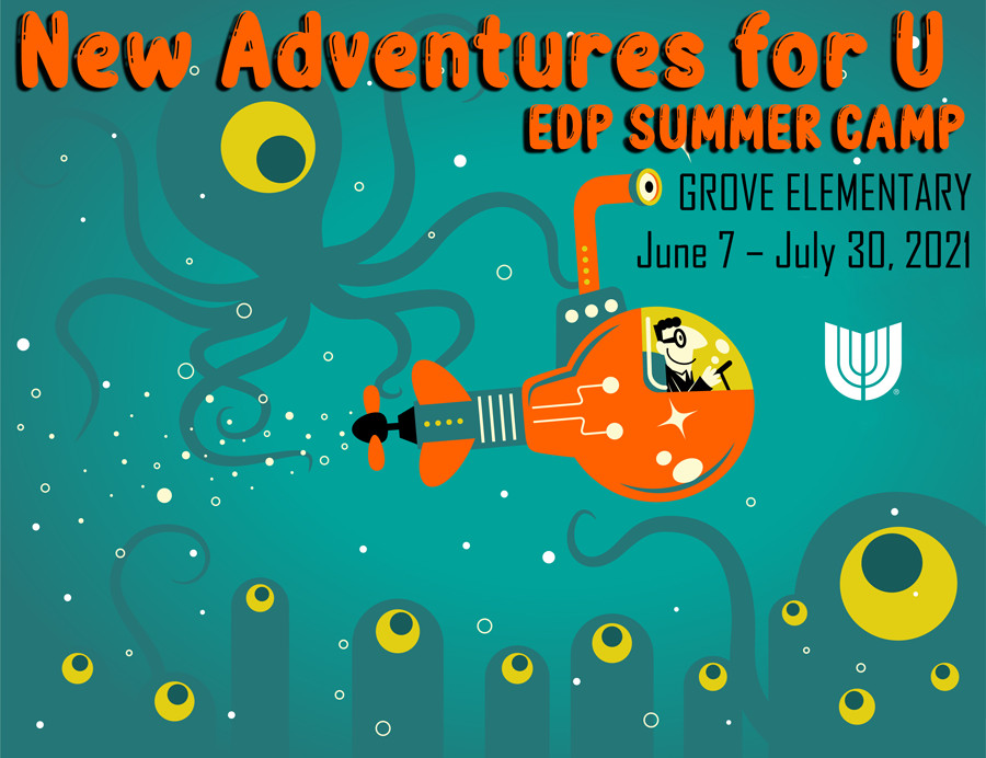 Union's Extended Day Program (EDP) is offering summer camp – New Advenutes for U – from June 7-July 30 at Grove Elementary School, 10202 E. 62nd St. School hours will be 6:45 a.m. until 6 p.m. Masks must be worn at all times. View this document for information on payment, enrollment and classes.