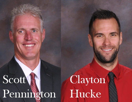 Scott Pennington named director of new Hope – Guidance – Social and Emotional Learning Department;   Clayton Hucke named interim 7th Grade Principal