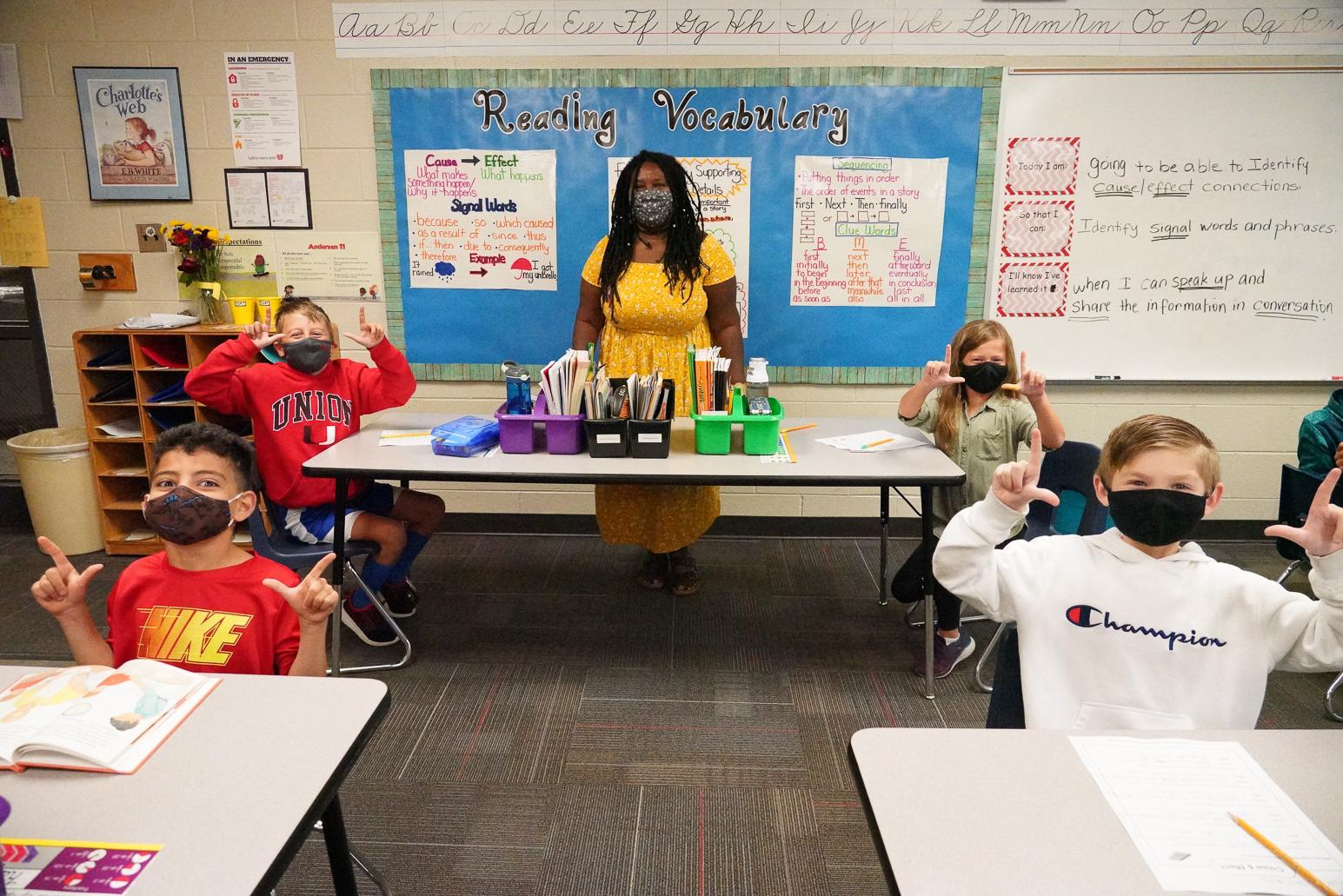 Andersen Elementary – Marina Nelson, 3rdGrade