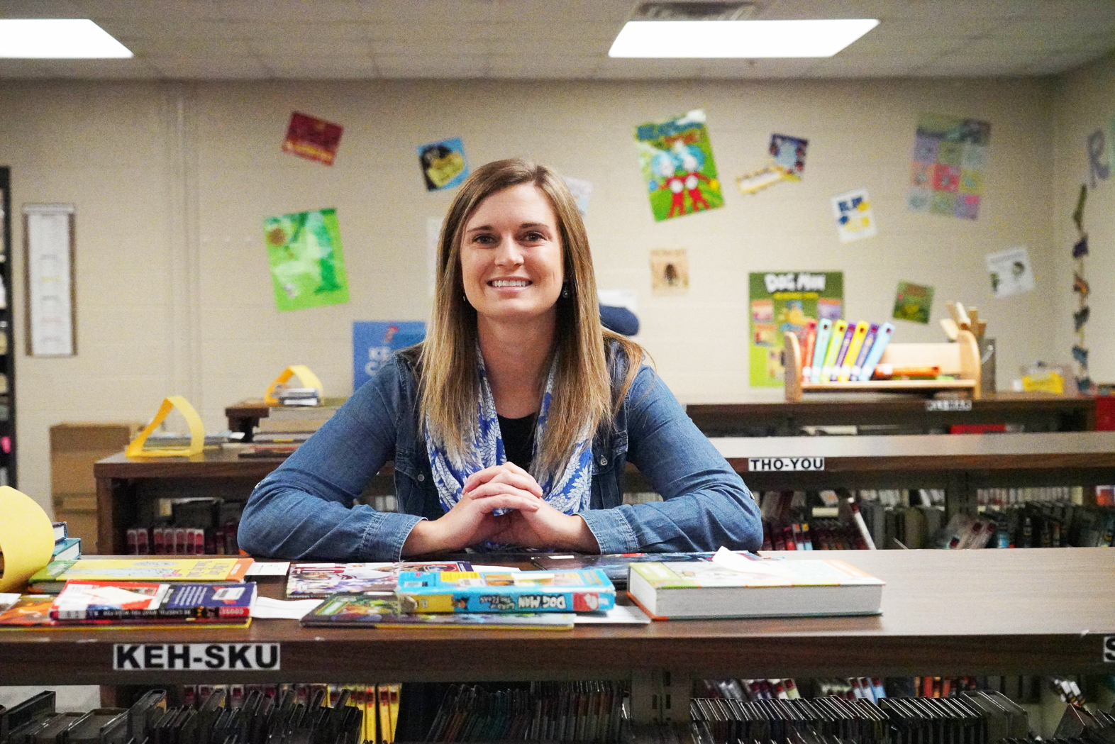 Boevers Elementary – Allison Harvey, Media Specialist