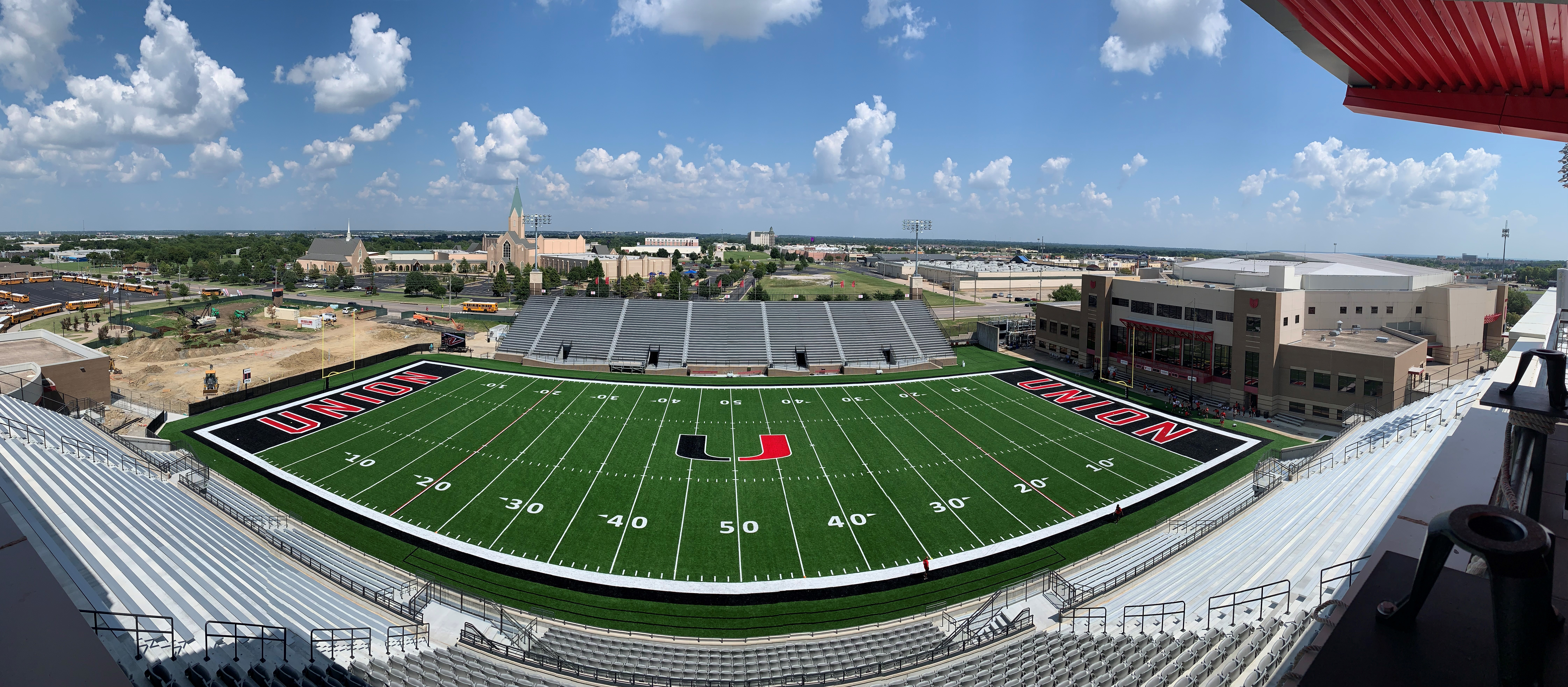 Panoramic view of the new Union stadium/ Photo by David Cobb, Client Development Manager at Terracon