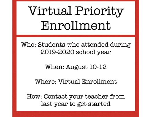 Attention 2019-2020 Students