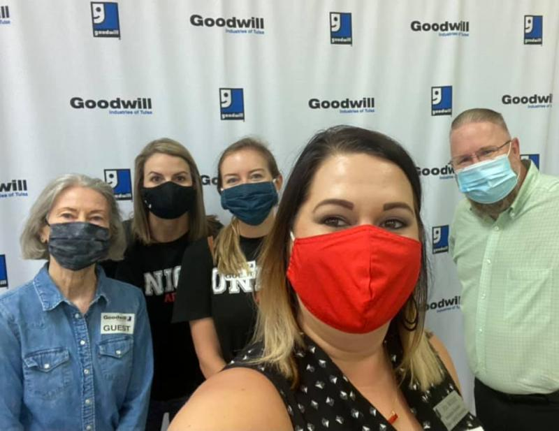 UALC Tours Goodwill, TulsaWorks Career Academy