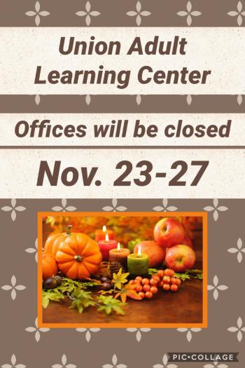 Offices Closed Nov. 23-27
