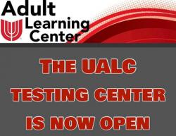 Testing Center Is Open