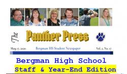 The Panther Press Vol.2 No.17. Staff and End of Year Edition!