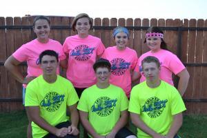 2013-2014 Officer Team/ Kylie Edwards/ Rylee Stockton/ Hanna Parker/ Ryann Blackburn/ Dakota Jackson/ Heath McCleskey