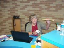 Mrs. Stewart - Librarian Extraordinaire!