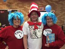 Thing 1, Thing 2, and the Cat in the Hat!