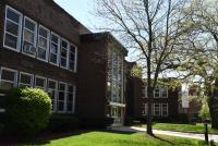 Landscape View facing Everett F. Kerr Middle School