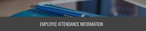 Icon for Attendance information