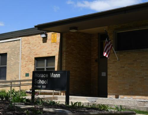 Front of Horace Mann Building