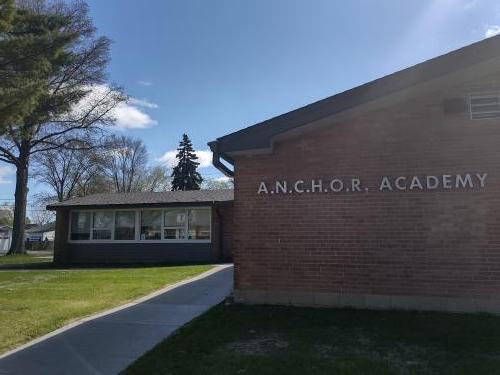 Entrance to ANCHOR Academy