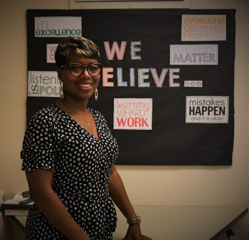 Ms. Kiwana Sanders, Principal
