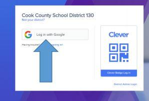 Clever log in with Google