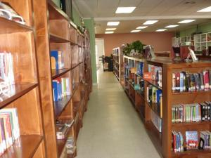 We are very proud of our Library and invite you to come in and check it out!