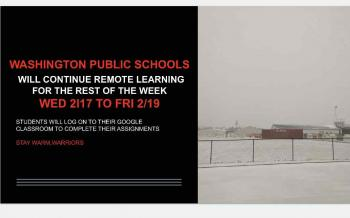 Remote Learning Will Continue