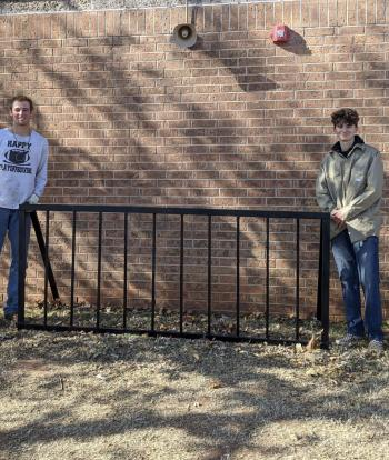 Kobe Scott, WHS AG Student, Completes Servicr Project