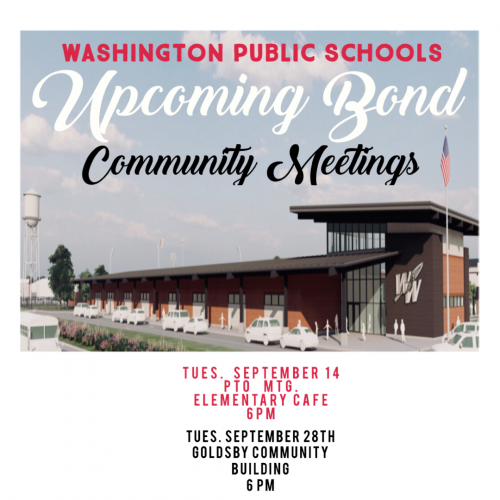 COMMUNITY MEETINGS DATES SEPT 14 AND SEP 28