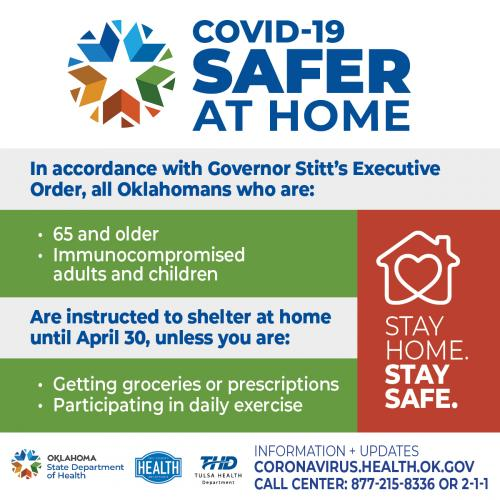 covid19 information safer at home