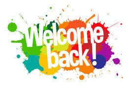Welcome Back - Back to School Night