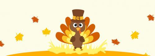 Thanksgiving turkey illustration