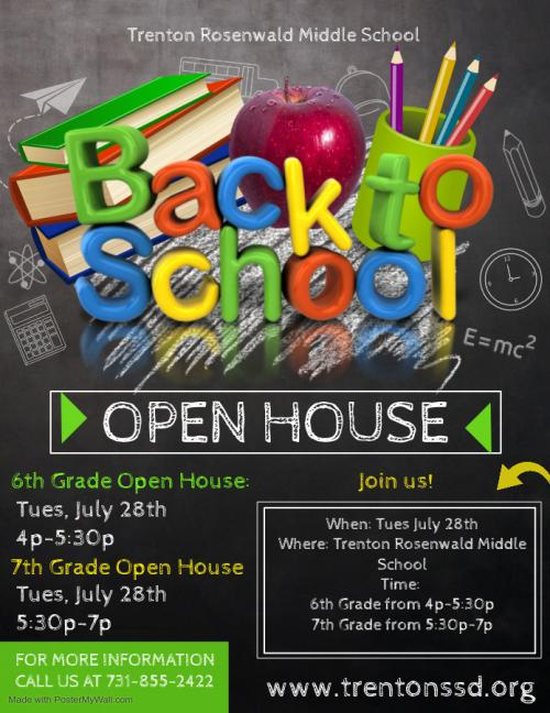 7th 8th Back to School Night